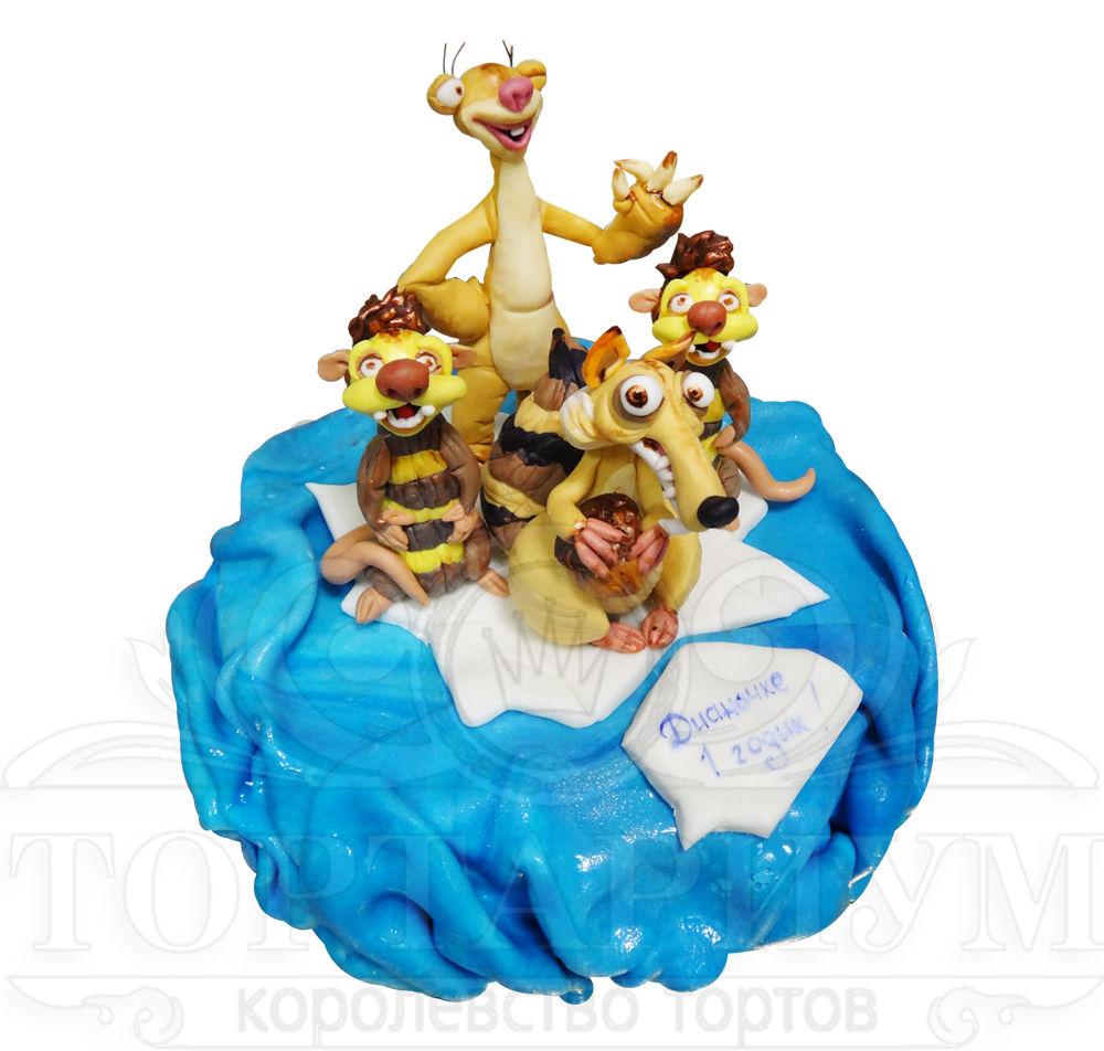 Каталог детских тортов кондитерской