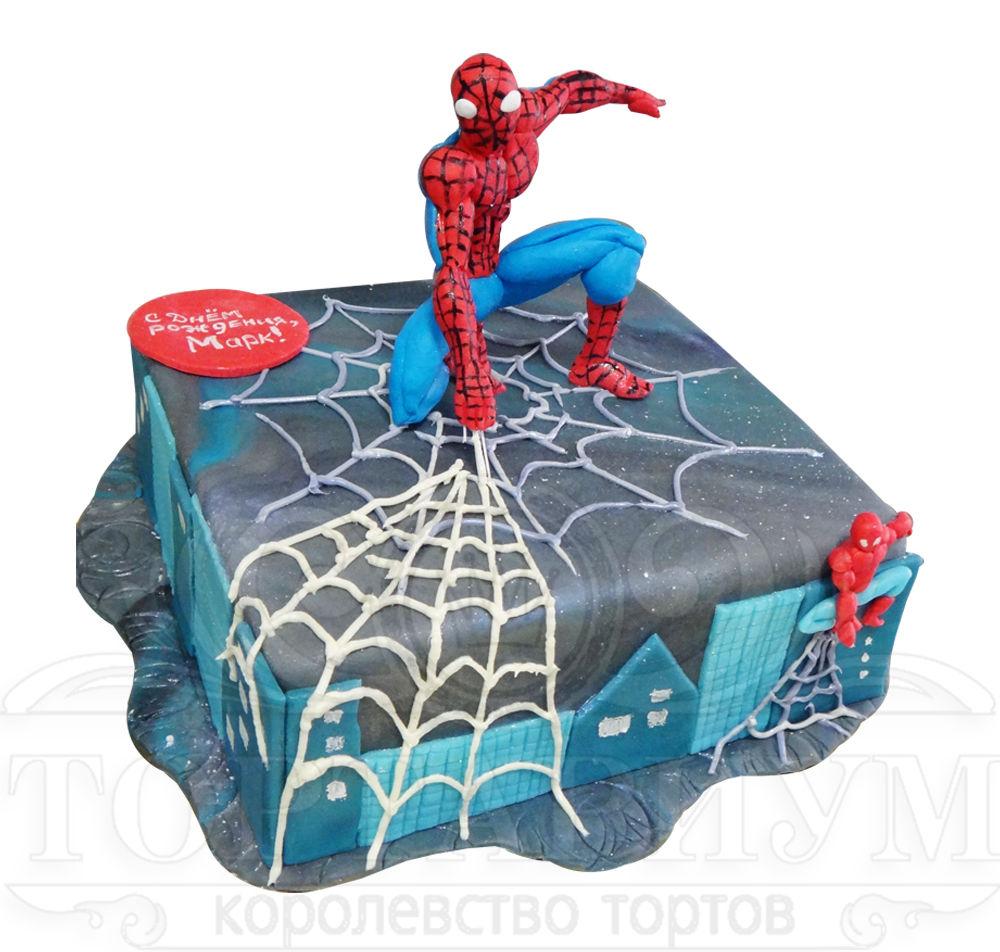 Торт spider man станет необыкновенным