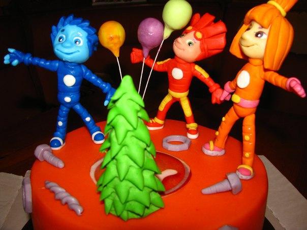 Торт Фиксики от кондитерской Тортариум