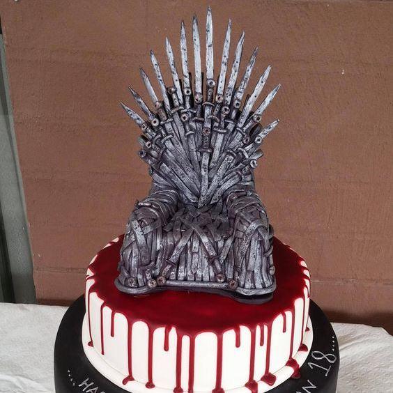 Торт Железный трон