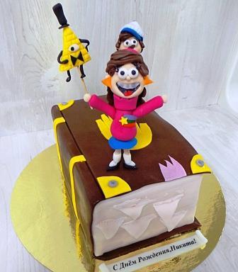 Торт Гравити Фолс