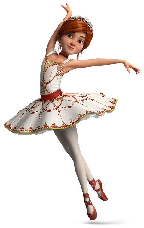Мульфильм Балерина
