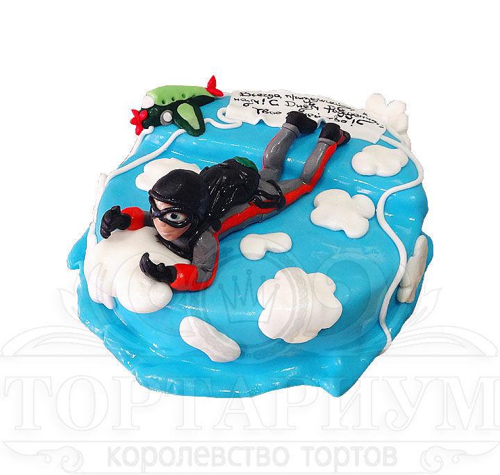 торт-парашют фото