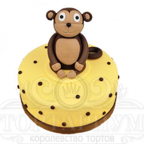 Фото обезьян с тортом