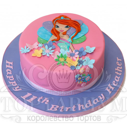 Детский торт с винкс фото