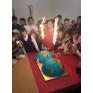 Оформление торта для воспитанников Тучковской школы-интерната