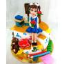 Принимаем заказы на детские торты на 1 сентября