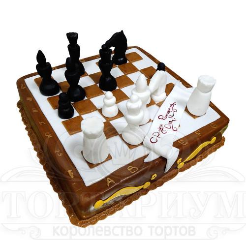 торт фото шахматная доска на заказ