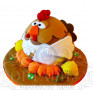 Новогодние торты на год Петуха сделают праздник ярким!
