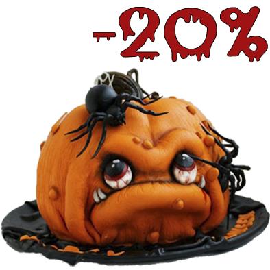 скидки 20% на хэллоуин